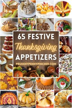 Best Thanksgiving Appetizers, Holiday Appetizers, Thanksgiving Side Dishes, Holiday Recipes, Thanksgiving 2020, Thanksgiving Dinners, Thanksgiving Cakes, Holiday Meals, Thanksgiving Decorations