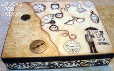 Caixa relógios - Loucas por caixas - Terra Fotolog