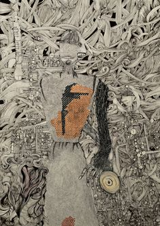 #music , #demon , #blackandwhite , #pen #ink #details