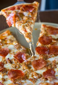 Spicy sausage and pepperoni pizza is so much better made at home than getting delivery! You'll thank me later.