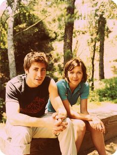 Jake and Maggie Gyllenhaal - if ever there was a movie made of Franny and Zooey, these two would have to star.