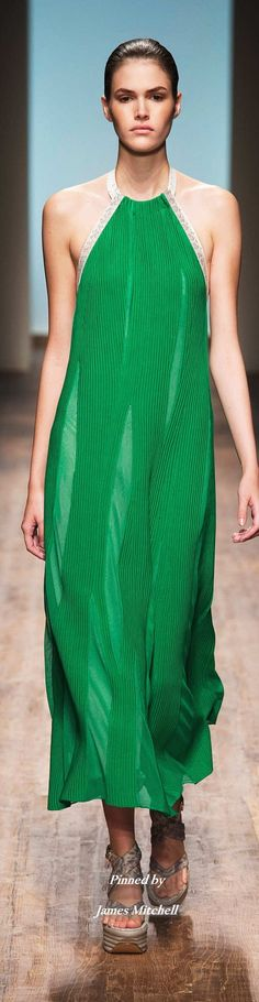 Salvatore Ferragamo Collection Spring 2015 Ready to Wear