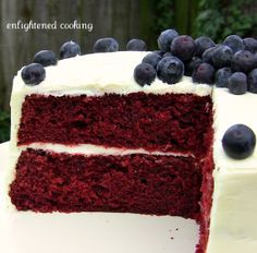 Vegan Red Velvet Cake | power hungry I may get a heart shaped pan/cupcake pan and make this for valentines day!