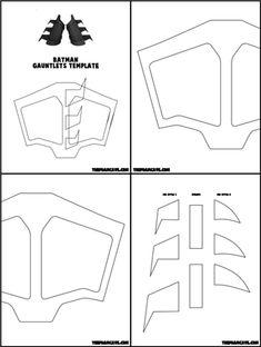 Template for Batman Gauntlets