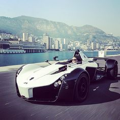 The BAC Mono - White Angel