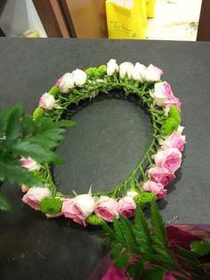 My beautiful crown!! From Inés Quintana flowershop in Bilbao!