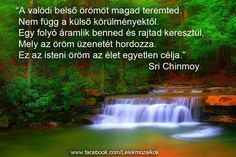 Sri Chinmoy idézet Waterfall, Quotes, Outdoor, Quotations, Outdoors, Qoutes, Rain, The Great Outdoors, Shut Up Quotes