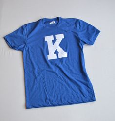 b9e9a3b09a4 The Blue K Vintage Letter Tee from Shop Local Kentucky
