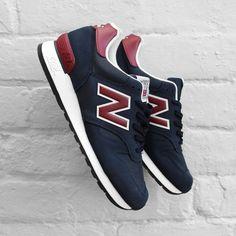 New Balance 670SNR: Navy/Red