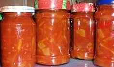 "Čalamáda ""Uncle Bens"" Preserves, Pesto, Salsa, Garlic, Smoothie, Cooking Recipes, Jar, Homemade, Canning"