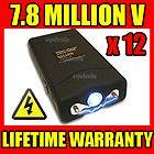 (12) VIPERTEK VTS-880 7.8 Million Volt Mini Stun Gun PHX800 - Wholesale Lot
