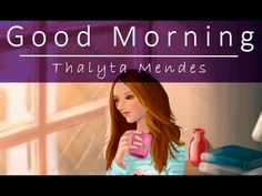 Good Morning! (Speed) - Digital Painting - Photoshop | Thalyta Mendes