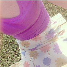 <Spoiled Rotten> Floral Skirt Cute vintage looking skirt Spoiled Rotten Skirts