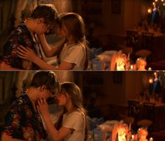 """""""Romeo + Juliet"""" (1996) >> Leonardo DiCaprio & Claire Danes 