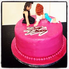 Dirty dancing cake
