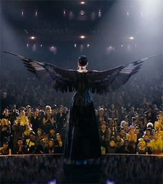 Catching Fire! Inspired Styles from the Hunger Games WANT THIS NOW! she could just fly away!