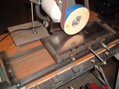 Home made Surface grinder - Page 2 - The Knife Network Forums : Knife Making Discussions
