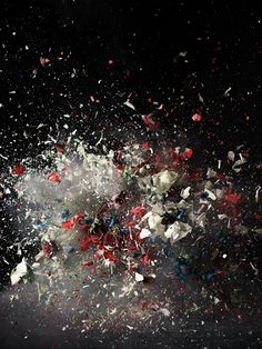 Blow up, Ori Gersht