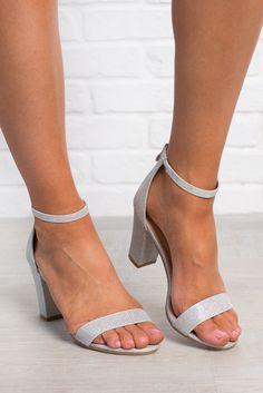 10dec80d1 Harper Heels (Silver) - NanaMacs Silver Block Heels