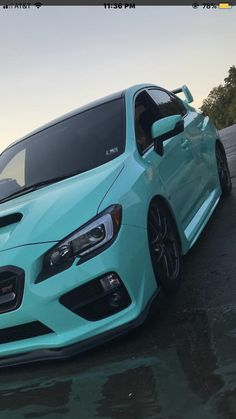 What a pretty subi. 2012 Subaru Wrx, Subaru Cars, Jdm Cars, Subaru Impreza, Carros Turbo, Sti Car, Matte Black Cars, Street Racing Cars, Cool Car Accessories