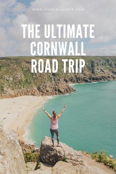 The Ultimate Cornwall Road Trip Itinerary From Turquoise Waters And Surf Beaches To Quaint Seaside Towns, Cornwall Is A Uk Must Do. Here's Our Five Day Cornwall Road Trip Itinerary. Road Trip Uk, Road Trip Hacks, Uk Trip, Places To Travel, Travel Destinations, Travel Tips, Travel Hacks, Travel Essentials, Solo Travel