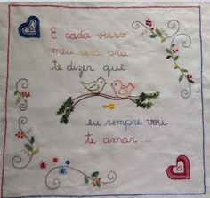 Embroidery Patterns, Needlework, Diy And Crafts, Patches, Sewing, Portugal, Stitching, Jewelry, Hand Embroidery Flowers
