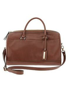 Banana Republic Parkside Satchel  100% Leather. 10k gold plated hardware. Zip closure. Printed lining.