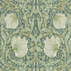 Lovely Arts And Crafts / Art Nouveau Style Printed Decorative Tile William Morris -taken from an original wallpaper design William Morris Wallpaper, William Morris Art, Morris Wallpapers, Of Wallpaper, Designer Wallpaper, Paisley Wallpaper, Beautiful Wallpaper, Original Wallpaper, William Morris Patterns