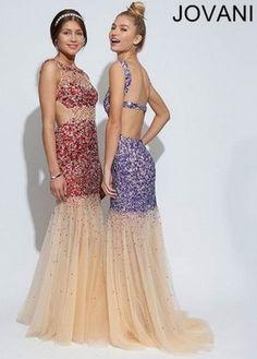 new #jovani design for #prom2014 #nude #sparkle #lovetps