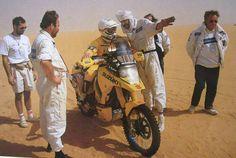 Gaston Rahier #Suzuki DR Big 800 #Dakar 1989.