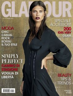 ed2a5e8a5d1b Bianca Balti gets clad in black on the September 2016 cover of Glamour  Italy. Photographed by Giovanni Gastel and styled by Valentina Di Pinto…