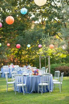 Tuscany Rehearsal Dinner with colorful brilliance.  http://www.italyweddingplanner.com