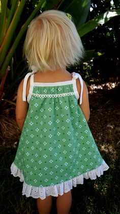 Caila-Made: Tied Summer Dress Remix {because it's still summer here} Childrens Sewing Patterns, Kids Patterns, Sewing For Kids, Baby Sewing, Toddler Dress, Toddler Outfits, Kids Outfits, Baby Dress Patterns, Skirt Patterns Sewing