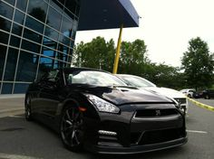 This Nissan GT-R was on our NASCAR Technical Institute campus today for our Nissan Manufacturer Elective Program Celebration! www.uti.edu