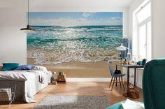 Seaside - beach scene paper wallpaper   Homewallmurals
