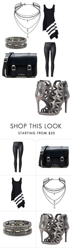 """""""Power suite"""" by victoria-murray-1 ❤ liked on Polyvore featuring Dr. Martens, Y-3, Miss Selfridge, Sole Society and Kenneth Cole"""