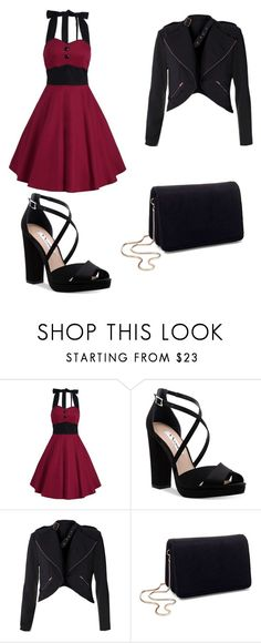 """Untitled #45"" by evalia1291 on Polyvore featuring Nina and Miss Selfridge"