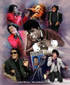 James Brown, Black History Facts, Black History Month, Black Art Pictures, Black Love Art, Black Artwork, Afro Art, Punk, Before Us