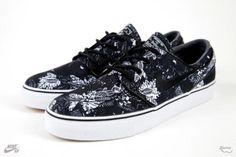 NIKE SB ZOOM STEFAN JANOSKI BLACK/BLACK-WHITE #sneaker