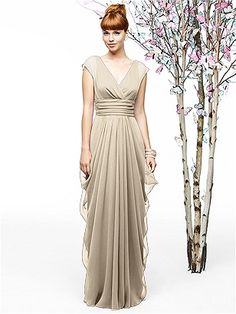 comes in several possible colors Lela Rose Style LR200 http://www.dessy.com/dresses/bridesmaid/lr200/