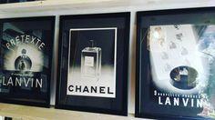 #1930s の#lanvin #chanel の#ヴィンテージ #広告 販売中です