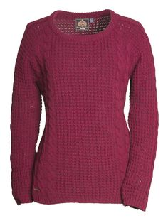 From the Toggi AW14 collection, the Barnet knitted jumper. The claret colour is so autumnal and festive, this could be a Christmas jumper that you could wear for months and months!
