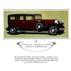 1931 Chrysler Imperial Eight Sedan-Limousine