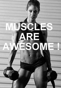Amen! Our muscles are amazing, not only do  they help us move, are amazing to look at they hold our emotional intelligence and emotional memory... as we  obsessed!  MR