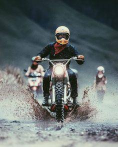 Aaron Brimhall s #motorcycles #scrambler #motos | caferacerpasion.com