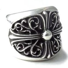 Chrome hearts K Ring! Also, called The K&T ring!