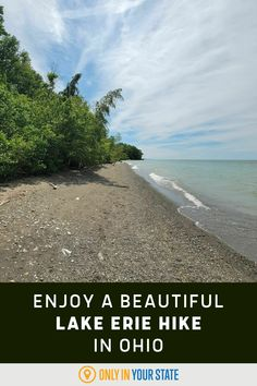 Take a beautiful Lake Erie hike in Ohio. This scenic trail is easy to moderate, family-friendly with older kids, offers beaches and picnic areas, and more. There's even a lookout tower that photographer's love. Ohio Hiking, Lookout Tower, The Buckeye State, Lake Erie, Picnic Area, Road Trip Usa, United States Travel, Natural World, Beaches