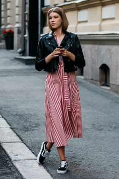 Неделя моды в Хельсинки 2018. Helsinki Fashion Week 2017-2018 Streetstyle.