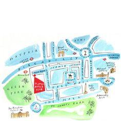 London Map | Sara McMenemy