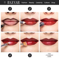Excellent Tips To Incorporate Into Your Skin Care Routine - Beach Beauty Life Lip Contouring, Contour Makeup, Lipstick Dupes, Lipstick Colors, Makeup Blog, Makeup Ideas, Diy Makeup, Simple Makeup Tips, Fuller Lips